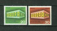ALEMANIA/RFA WEST GERMANY 1969 MNH SC.996/997 CEPT