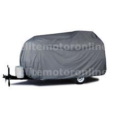 Deluxe Scamp 16 travel trailer Camper Storage Cover w/zipper Door Access