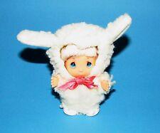 Vintage 1994 Precious Moments Hi Babies blonde hair blue eyes in Sheep clothing