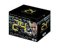 NEW 24 Series 1-8 Complete + Redemption Jack Bauer Kiefer Sutherland (DVD, 2010)