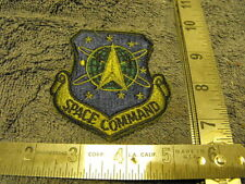 US Air Force  Subdued SPACE COMMAND Cloth Chest Patch.Mint