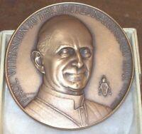 PAPA Paolo VI  GRAN MEDAGLIA NEW YORK MISSION UNITED NATION Vaticano 1965 -NUORO