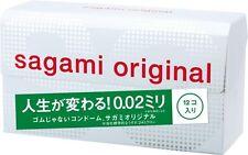 New Sagami Original 002 Regular Ultra Thin 0.02mm Non Latex Condom 12 pcs Japan