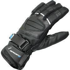 Mens Spada ICE Leather Motorcycle Gloves Leather Textile Waterproof Thermal Bike