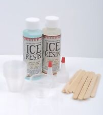 ICE RESIN Kit, Clear Jewelry Resin Starter Kit, plastic cups, doming kit adh0029