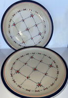 2 Vintage Epoch Apple Orchard Salad Plates 590 Korea Country Concepts Coll