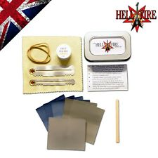 Hellfire Fret Polishing, Finishing & Sanding Kit with case  Luthier Tools Guitar