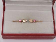 #(G167) Antique Vintage Russian Soviet GOLD 14k 583 Earrings