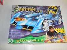 "Batman 20"" Batmobile Detachable Robin Motorcycle DC H2392 Sealed Mattel 2003"
