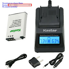Kastar Battery LCD Fast Charger for Nikon EN-EL12 & Nikon Coolpix B600 Camera
