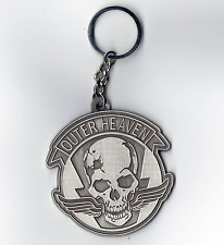 Metal Gear Solid Outer Heaven Keychain Zinc Alloy. Support Venom Snake!