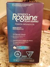 Rogaine Womens Foam 5% - 4 Month Supply Exp 05/2020 or later