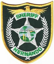 Hernando Sheriff Florida RARE Police patch Florida FL