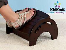 NEW KidKraft 15131A Anti-Slip Adjustable Nursery Stool for Nursing - Cherry (BL)