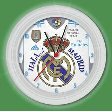 wall clock Real Madrid futbol club 2017 18 reloj de pared de regalo soccer gift