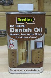 Original Danish Oil von Rustins seidenglänzend - 500 ml dänisches öl tungöl oel