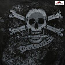 Calcutta Men's Skull and Crossbones Tee Medium ~ New