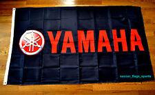 Yamaha Flag Banner 3x5 ft Japanese Motorcycle Manufacturer Black