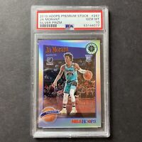 Ja Morant 2020 Panini NBA Hoops Premium Silver Prizm Tribute RC PSA 10 LOW POP