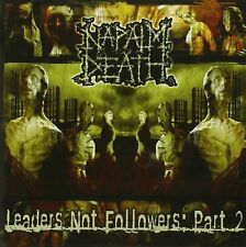 Napalm Death Leaders Not Followers: Part 2 CD NEW SEALED 2004 Metal