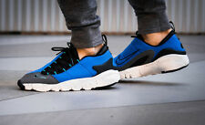 NIKE AIR FOOTSCAPE NM New Motion Trainers Running Gym Casual - UK 7 (EU 41) Blue