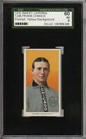 1909-11 T206 HOF Frank Chance Portrait Sweet Caporal 350 Chicago SGC 60 / 5 EX