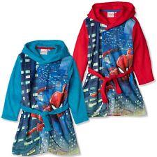 Enfants à Capuche Robe Âges 2-12 Personnalisé avec un Nom Bleu Roi