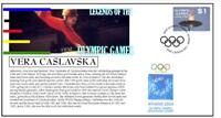 OLYMPIC GAMES LEGENDS COVER, VERA CASLAVSKA GYMNASTICS