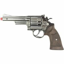 NEW Police Colt Full Size Diecast Toy 12 Shot Cap Gun Revolver by Gonher