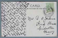 1905 Postcard sent to Mrs Jenkins, Knap House, Cadoxton, Barry