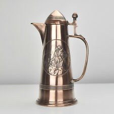 Antique German Arts& Crafts Copper Claret Jug / Pitcher / Decanter Jugendstil
