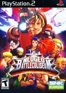 NeoGeo Battle Coliseum - Playstation 2 Game Complete