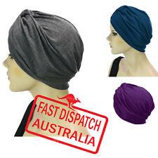 Chemo Hair Loss Fashion Head Wrap Cover Turban Hat GENTLE SOFT STRETCH viscose