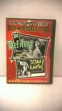 The Defilers/Scum of the Earth (DVD, 2001). Double Feature. Used.