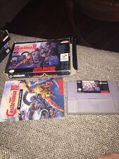 Super Castlevania IV SNES CIB Manual Complete in Box Super Nintendo