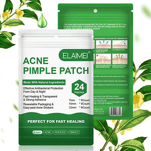 Acne Pimple Removal Patch Face Spot Invisible Hydrocolloid Treatment Sticker 24