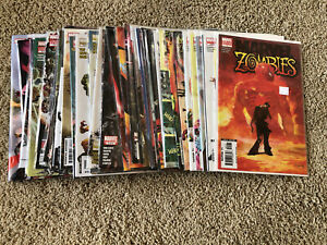 MARVEL ZOMBIES all 1st Prints HUGE Compete LOT 1-5 + Sub Sets Kirkman NM + Book