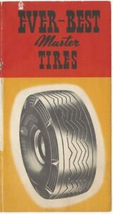 1930s Ever-Best Deluxe Automobile Car & Truck Tire Advertising Brochure