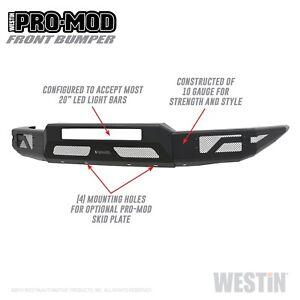 Westin 58-41055 Pro-Mod Front Bumper Fits 15-20 Colorado