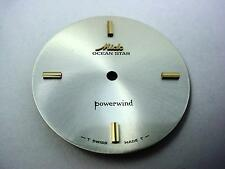 Powerwind Ocean Star Mido Vintage Pearl Watch Dial 29.26mm Gold Stick Markers