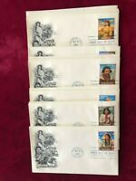 FDC Legends Of The West Complete Set of 20 First day of Issue Covers AR-41