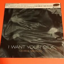 GEORGE MICHAEL I WANT YOUR SEX JAPAN 12 SEALED WITH OBI RARE 1987