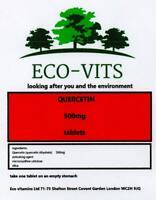 QUERCETIN  500mg 120 tablets immune health anti bacterial