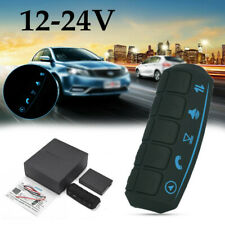 LED Car Steering Wheel Button Wireless Remote Control Kit For Stereo DVD GPS