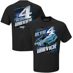 Kevin Harvick # 4  2020 Busch Light Black Camber T-shirt, 3X