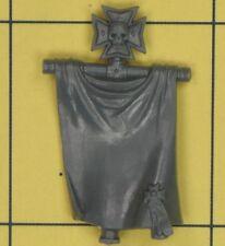 Warhammer 40K Space Marines Black Templars Upgrade Back Banner