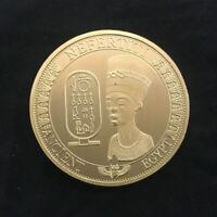 Gold Plated Commemorative Collectible Golden Iron LTC Litecoin 2 Colour