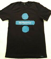 Original Ed Sheeran T-Shirt Med Album Cover DIVIDE TOUR Concert Live Adult Rare