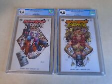 Harley Quinn and Poison Ivy Issue #1 & #2. Unknown Comics Variant. CGC Graded