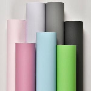 Matte Vinyl Roll Self Adhesive Contact Paper PVC Waterproof Wallpaper Furniture